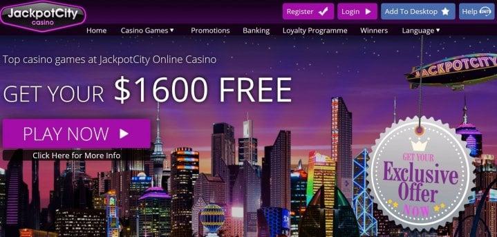 Jackpot City Casino Bonus Codes 2021