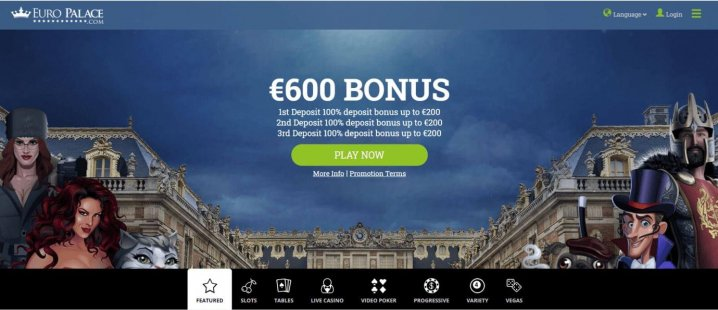 Euro Palace Casino Instant Play