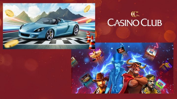 Porsche Promo & €100 5-Day Slots Bonuses At Casino Club!
