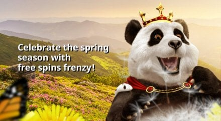 Royal Panda Spring Festival Daily Free Spins and Prize Drops