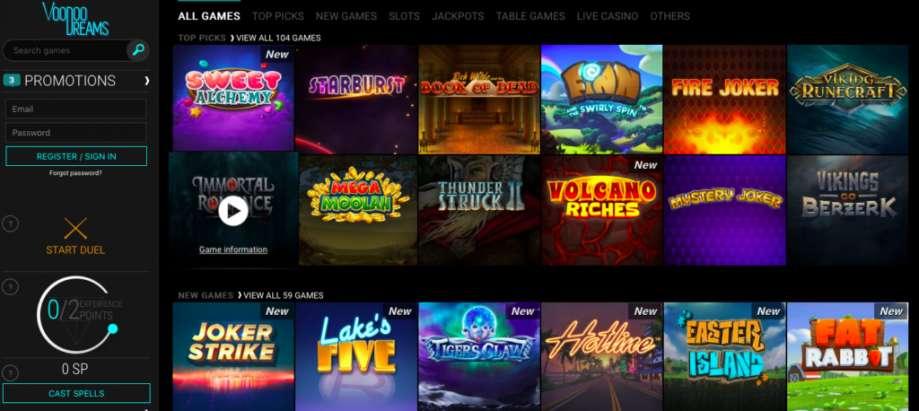 Vegas style slots free play