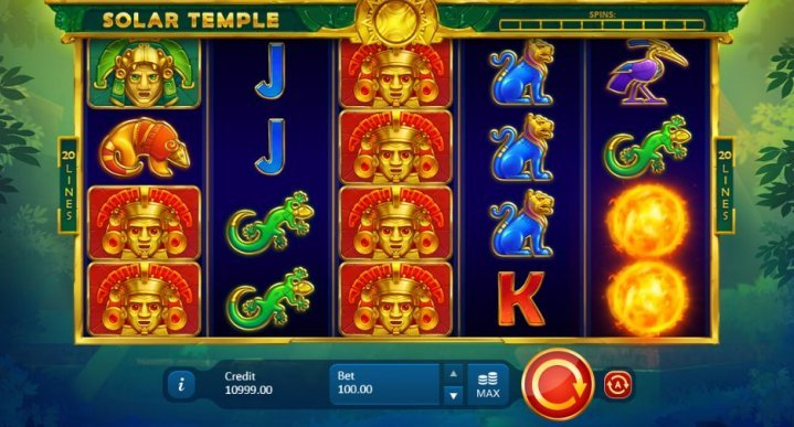 Solar Temple Slot Machine
